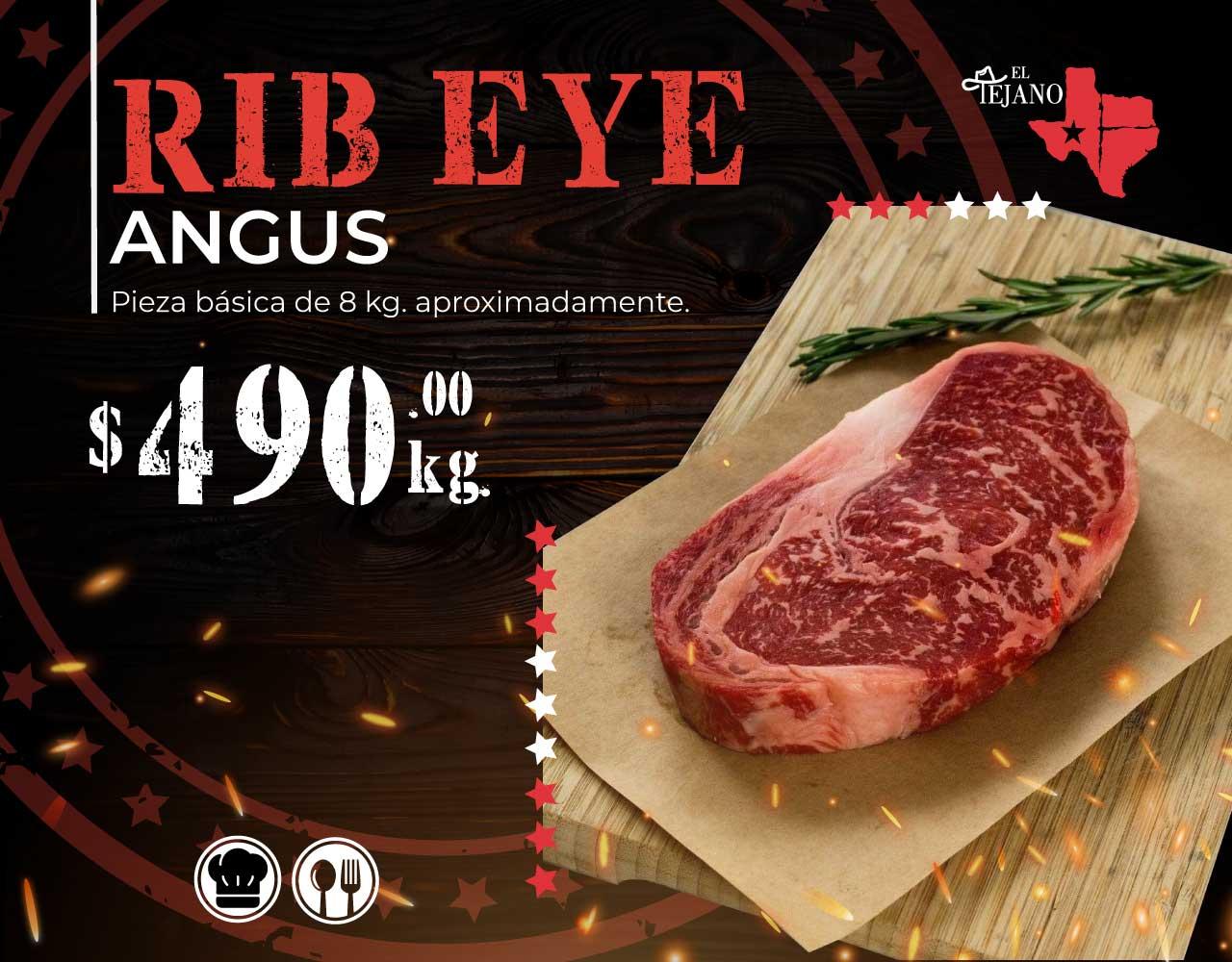 Promoción Rib Eye Angus