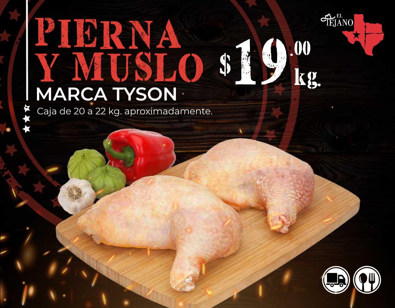 Promoción Pierna y Muslo Tyson